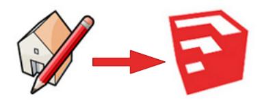 ancien et nouveau logo SketchUp