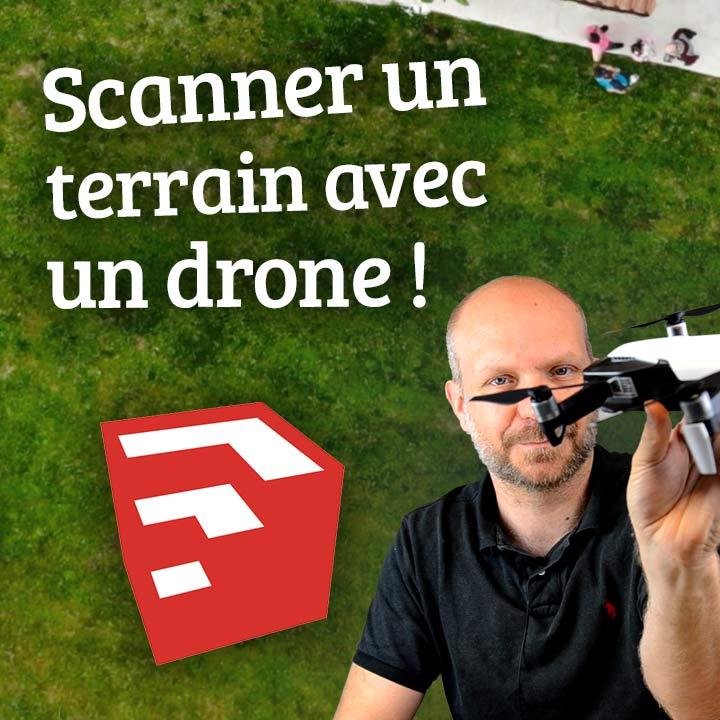DRONE e SketchUp